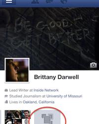 Les utilisateurs de mobiles peuvent gérer leur compte Facebook