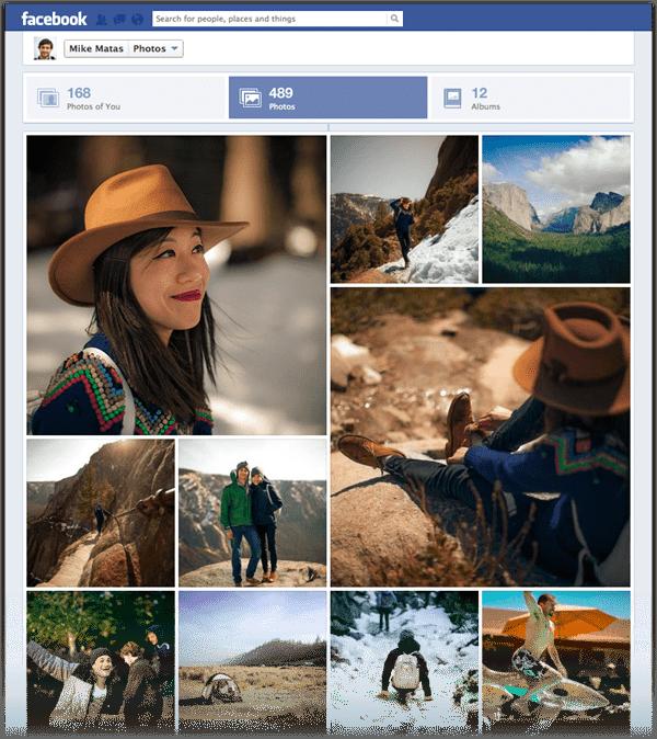 Facebook améliore la visualisation des photos et le partage