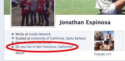 Facebook encourage à donner des informations, toujours plus d'informations