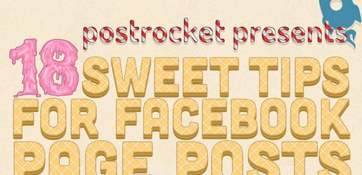Infographie : 18 conseils pour gagner en visibilité avec l'EdgeRank de Facebook ? [Partie 4]