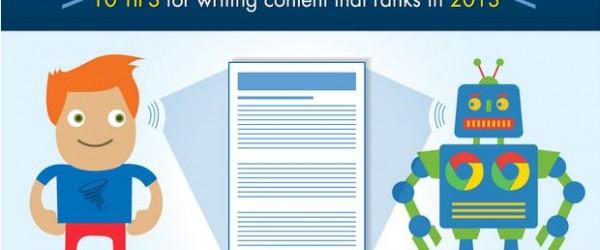 Infographie SEO : 10 conseils pour la rédaction de contenus