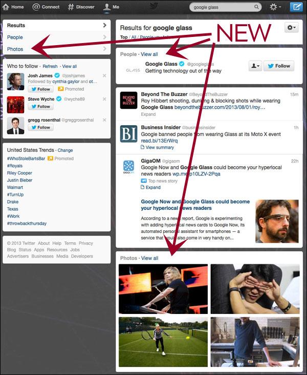 Twitter dévoile son nouveau moteur de recherche