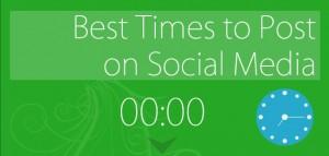 Infographie : les meilleurs moments pour publier sur les réseaux sociaux