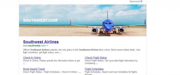 southwest-airlines-banniere-google