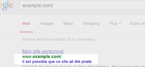 google-exemple-site-pirate