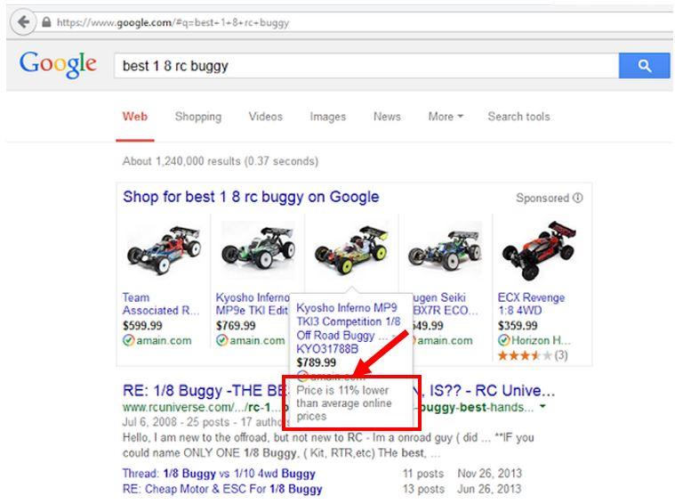 google-teste-pla-comparaison