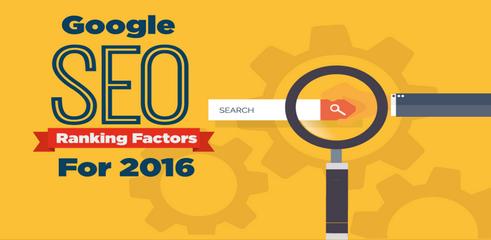Référencement naturel sur Google: Les facteurs de positionnement en 2016