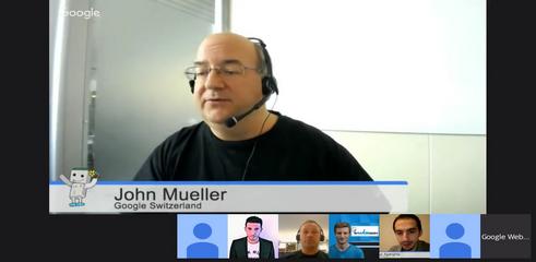 JOhn Mueller sur Google Penguin