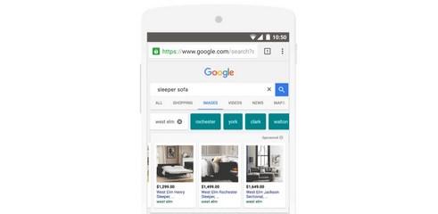 Les publicités débarquent dans Google Images!