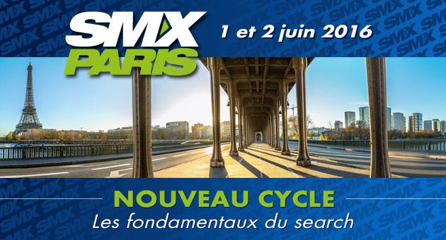 SMX Paris 2016 : Code Promo -15% !