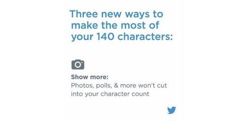 Twitter assouplit sa limitation des 140 caractères