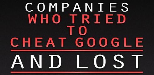Infographie : 10 entreprises qui ont joué avec le feu et perdu contre Google