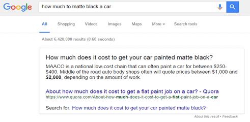 Quand Google réécrit les titres des Featured Snippets