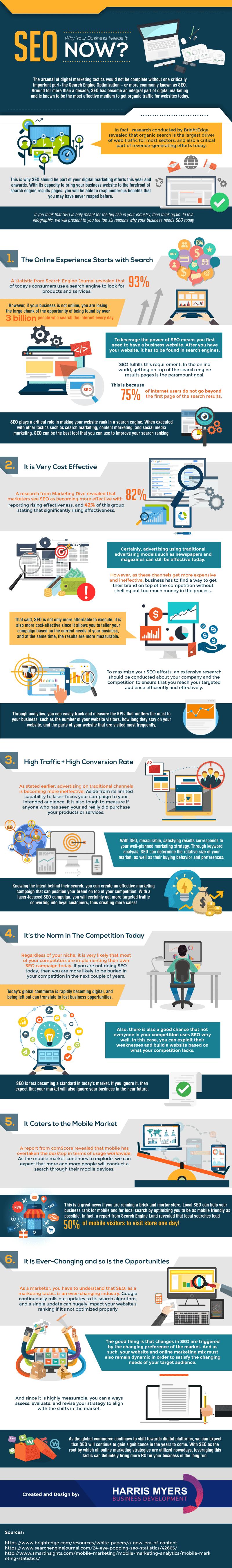 Infographie: SEO, votre entreprise en a besoin!