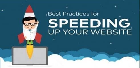 Infographie: Checklist pour la vitesse de chargement d'un site web - intro