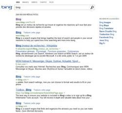 Le nouveau design de Bing arrive en France