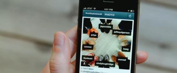 Identifiez des personnes sur Instagram