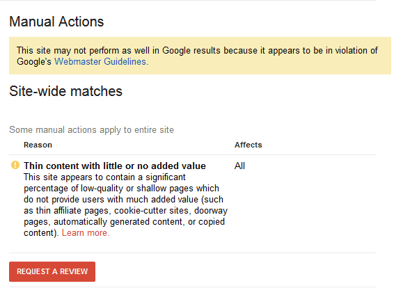 google-penalite-reseau-blog-prive