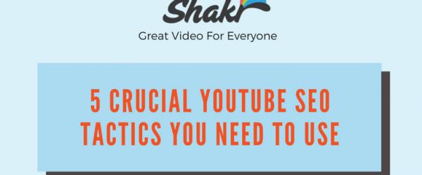 Infographie: le référencement d'une vidéo Youtube en 5 étapes (top)