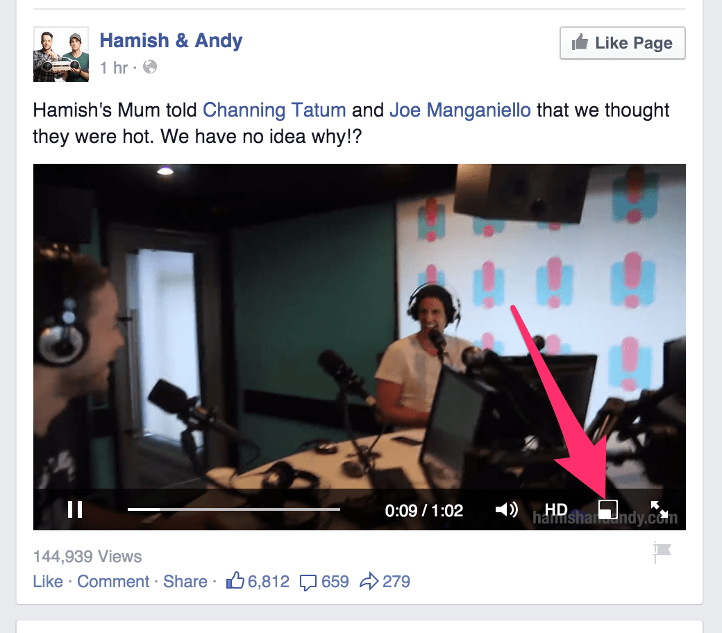 facebook-video-flottante