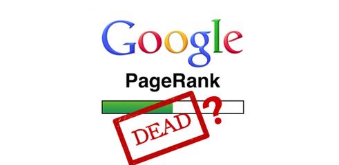 Google pagerank supprimé