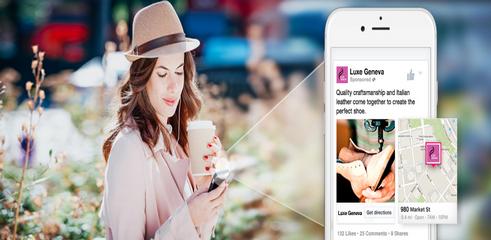 Facebook insère des plans dans sa publicité