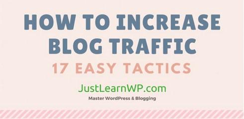 Infographie: 17 astuces pour générer plus de trafic sur votre blog