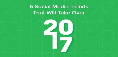 Les tendances réseaux sociaux pour 2017 en une infographie