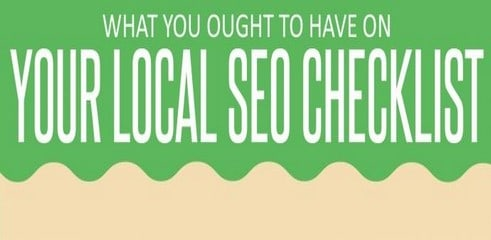 Check list pour un SEO local pertinent (infographie)