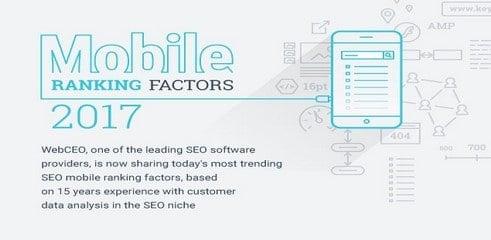 Les facteurs qui impactent le ranking mobile (infographie)