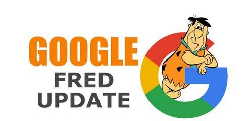 Mise à jour Fred (Google) - Infographie