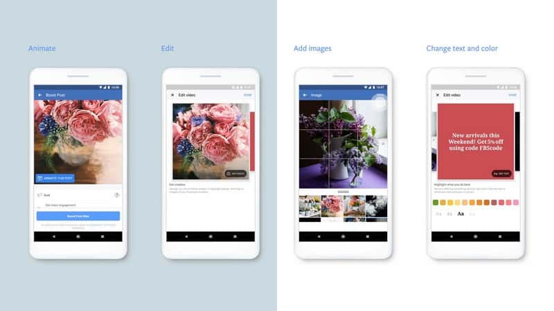 Facebook lance un outil de création de vidéos mobiles pour les annonceurs