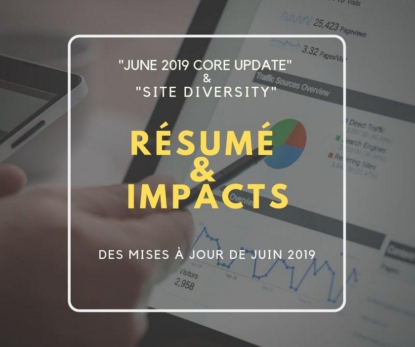 Mises à jour de Google Juin 2019 par Referenceur.be